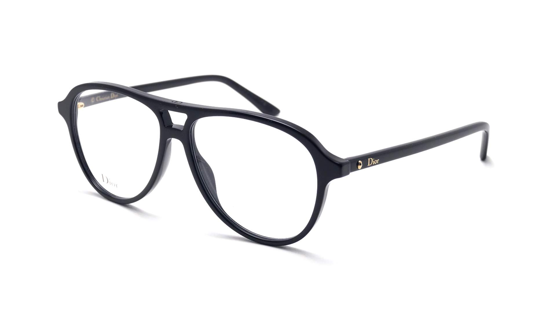 undefeated x new lower prices beauty Dior Montaigne 52 Noir MONTAIGNE52 807 54-13 Large