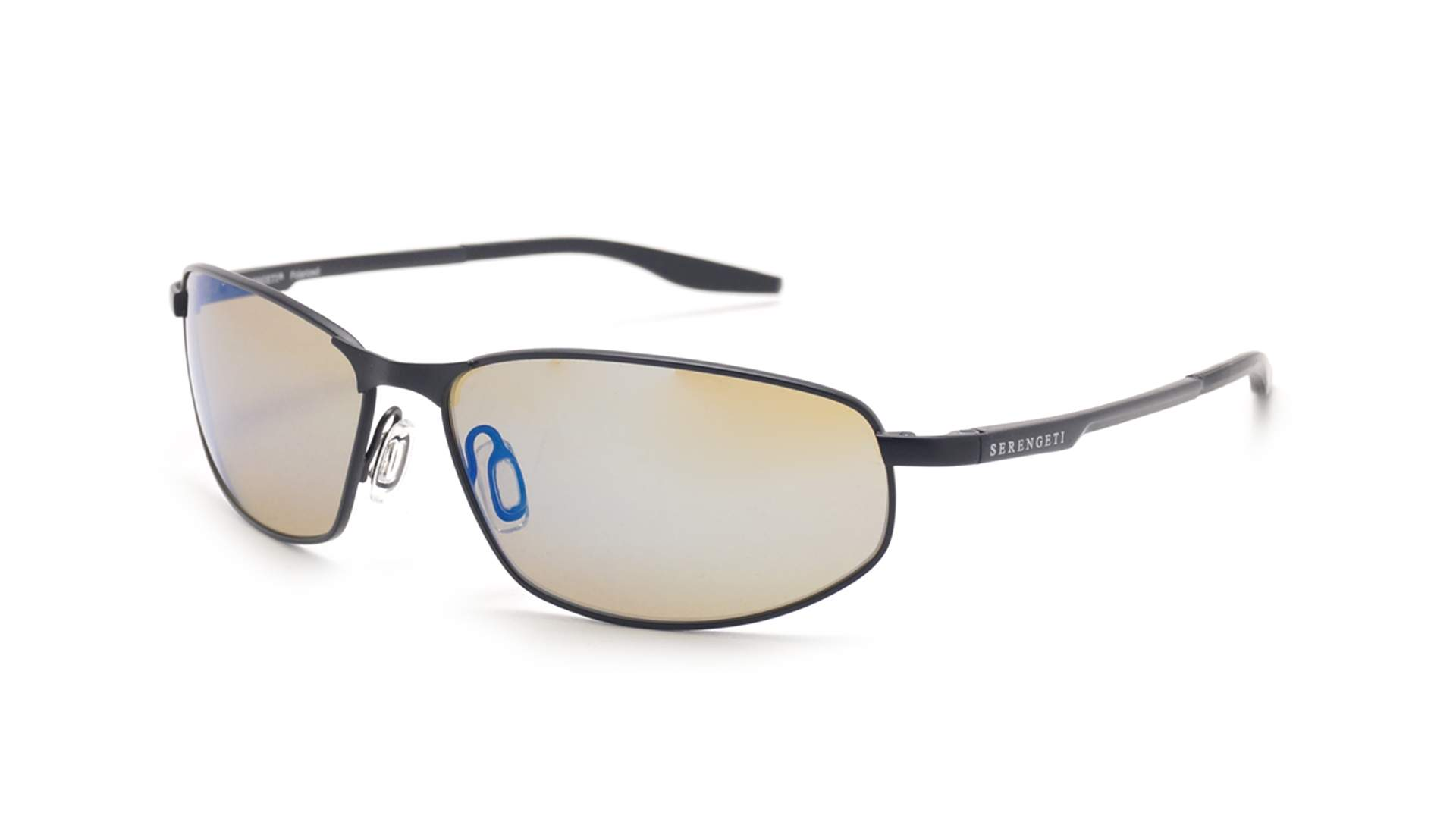 2df98c7bd44a Sunglasses Serengeti Matera Black Matte 8725 61-17 Large Polarized  Photochromic