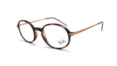 Ray-Ban RX7153 RB7153 5365 50-21 Écaille Mat Medium