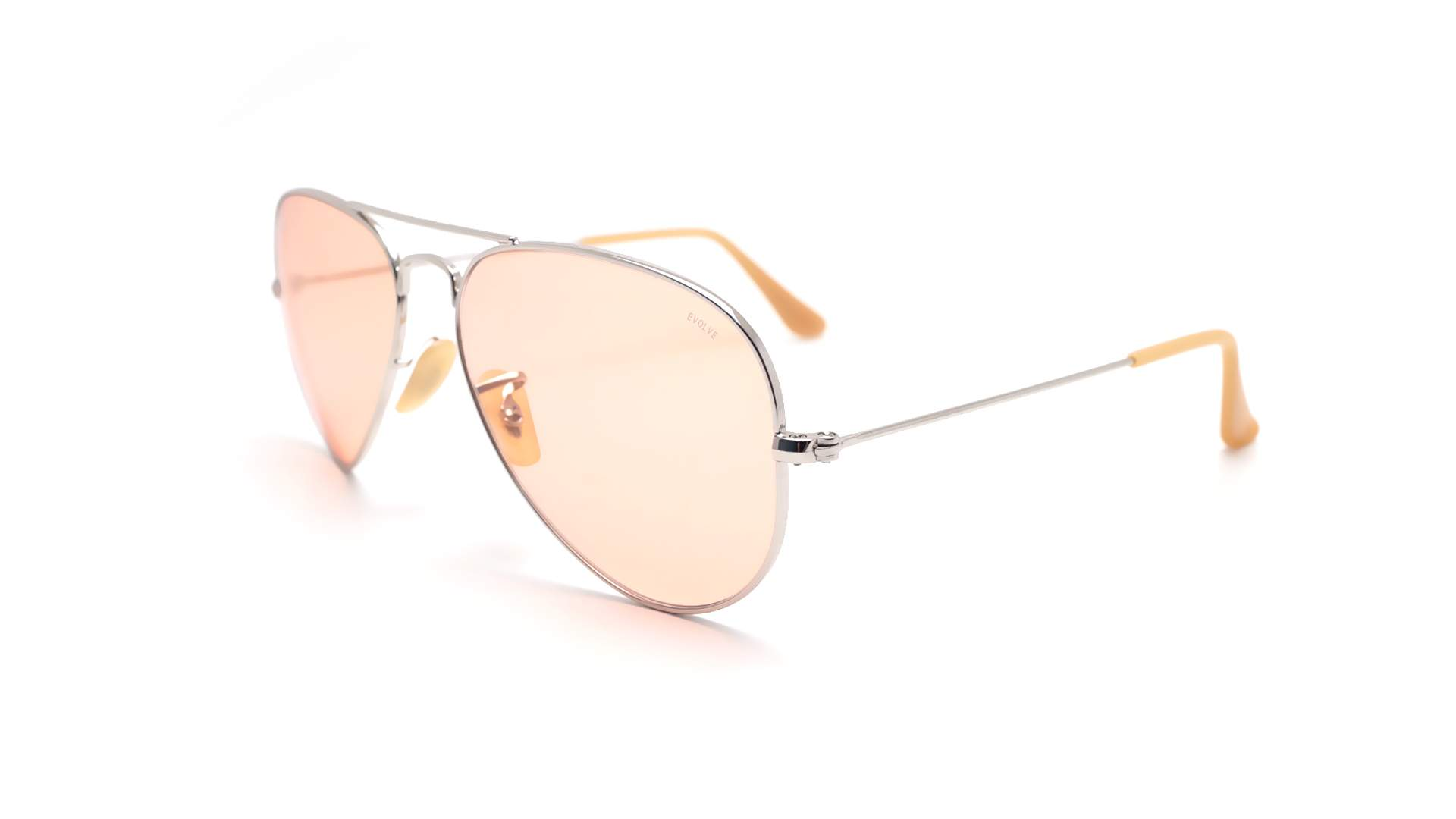 ray ban aviator rb3025 pink gold