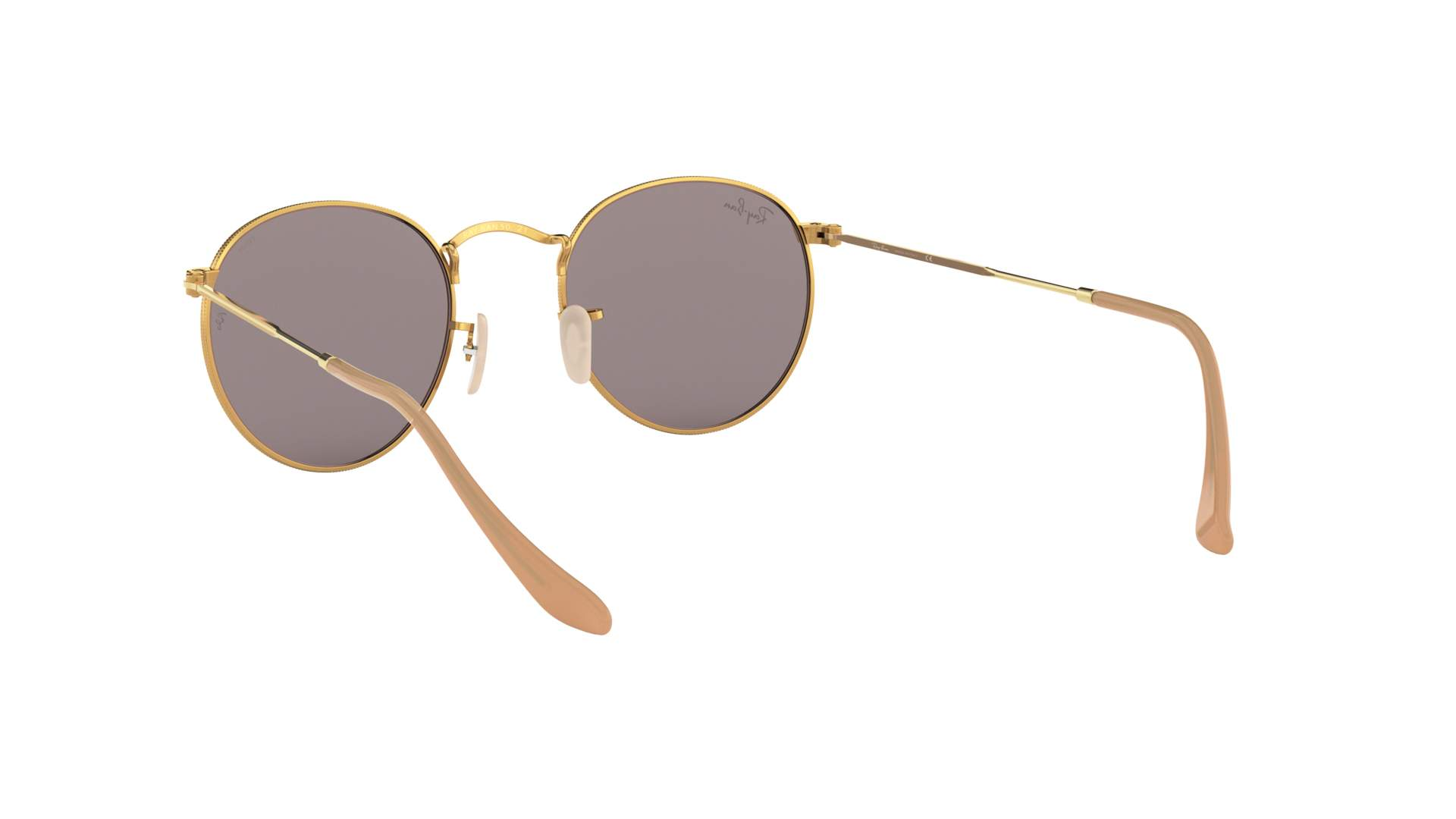bb1f08bf4e5cd ... new zealand sunglasses ray ban round evolve gold rb3447 9064 v8 50 21  medium photochromic e7cb7