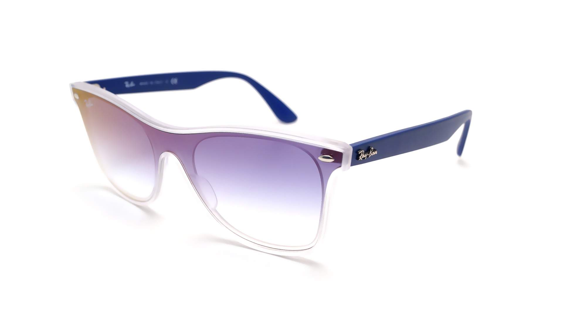 Medium Ray Blaze Wayfarer 41 Ban 18 Miroirs Rb4440n Bleu Dégradés 6356x0 sdCBQtxhr