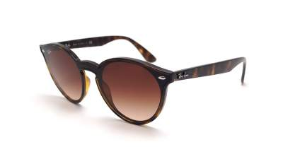Ray-Ban Blaze RB4380N 710/13 37-17 Brown Matte Medium Gradient