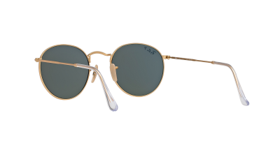 Ray-Ban Round Metal Or Mat RB3447 112/58 50-21 Polarized