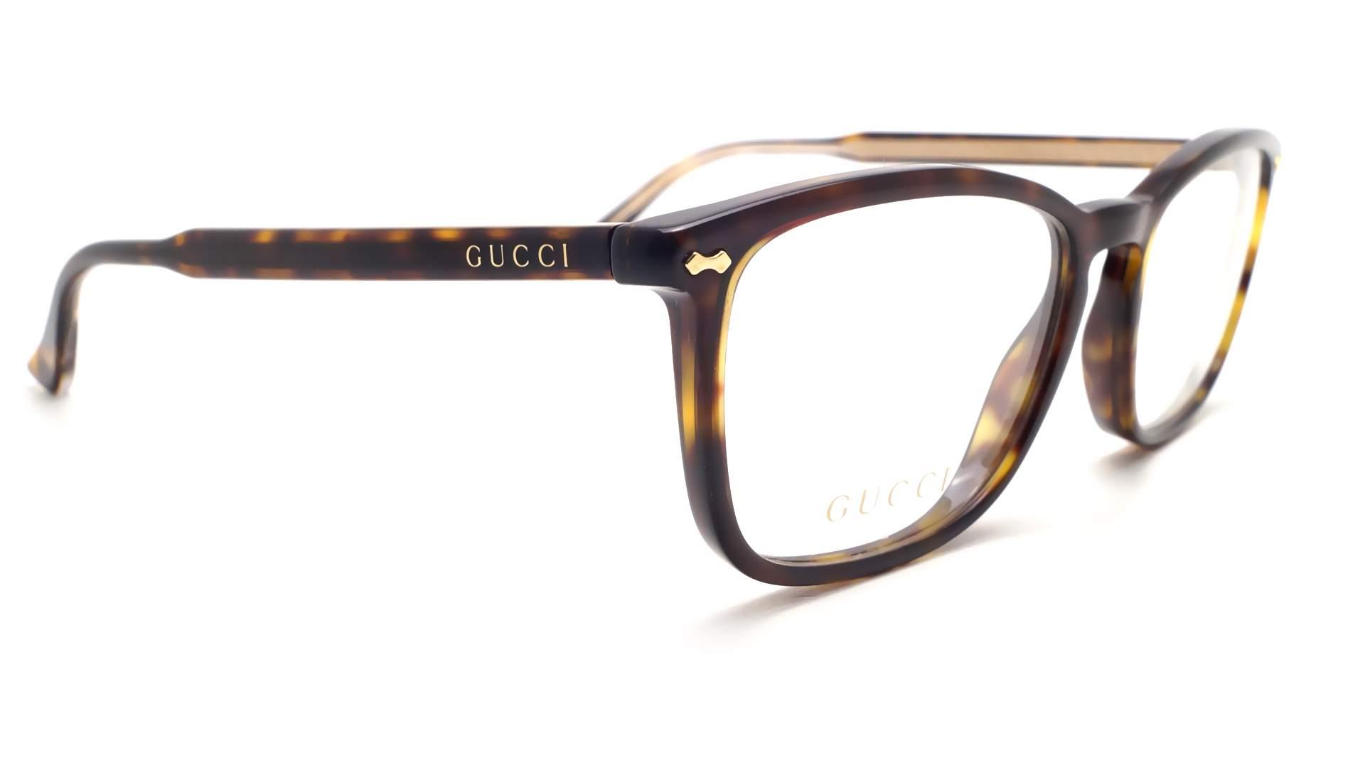 Gucci GG0188O 002 53-18 Tortoise | Visiofactory