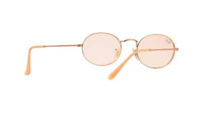 Ray-Ban Oval Flat Lenses Bronze RB3547N 9131/S0 51-21