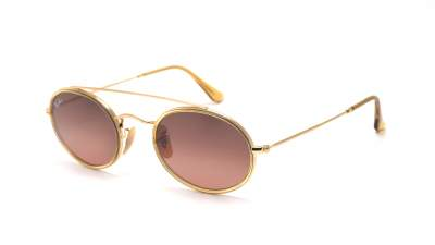 Ray-Ban Oval Double Bridge Gold RB3847N 912443 52-23 103,03 €