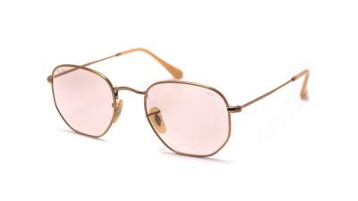 Ray-Ban Hexagonal Flat Lenses Bronze RB3548N 91310X 51-21 112,95 €