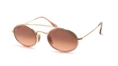 Ray-Ban Oval Double Bridge Gold RB3847N 9125A5 52-23 87,17 €