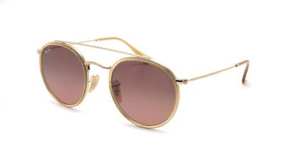 Ray-Ban Round Double Bridge Gold RB3647N 912443 51-22 105,02 €