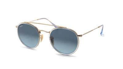 Ray-Ban Round Double Bridge Argent RB3647N 91233M 51-22 96,95 €