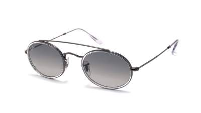 Ray-Ban Oval Double Bridge Gris RB3847N 004/71 52-23 96,95 €