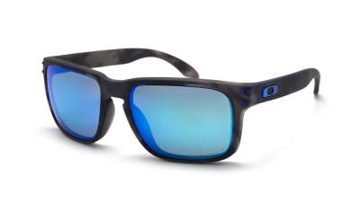 Oakley Holbrook Fire and ice collection Gris Mat Prizm OO9102 G7 57-18 Medium Polarisés Miroirs