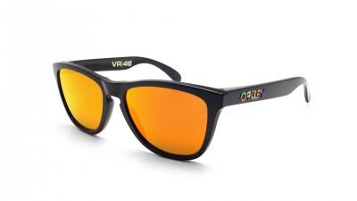Oakley Frogskins Valentino Rossi Vr46 Noir Prizm OO9013 E6 55-17 Medium Miroirs