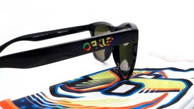 Oakley Frogskins Valentino Rossi Vr46 Noir OO9013 E6 55-17