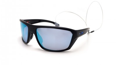 Oakley Split Shot Schwarz Prizm deep water OO9416 06 64-17 Large Polarized Flash