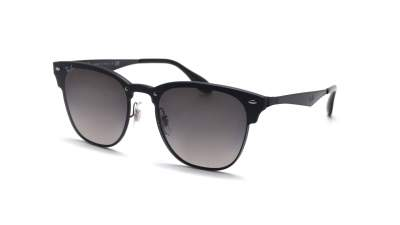 Ray-Ban Clubmaster Blaze Noir RB3576N 153/11 Large Miroirs