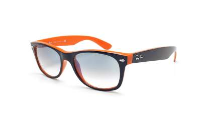 Ray-Ban New Wayfarer Orange RB2132 789/3F 52-18