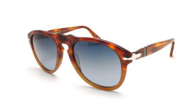 Persol PO 0649 1025/S3 Havana Resina e Sale Polarized Gradient Medium