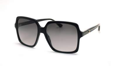 Gucci GG0375S 001 56-16 Noir Medium Dégradés