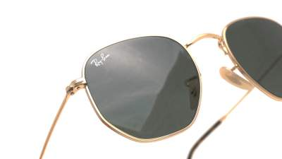 Ray-Ban Hexagonal Flat Lenses Or RB3548N 001 54-21