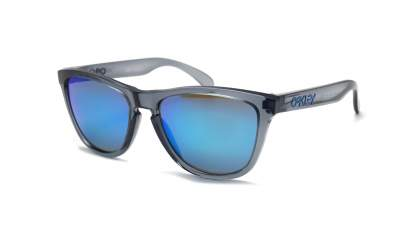 Oakley Frogskins Grau Prizm OO9013 F6 55-17 Medium Polarized Flash