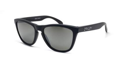 Oakley Frogskins Noir Mat Prizm OO9013 F7 55-17 Medium Polarisés Miroirs