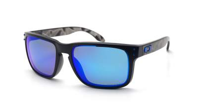 Oakley Holbrook Prizmatic Collection Black Mat Prizm OO9102 H0 57-18 Medium Polarized Flash