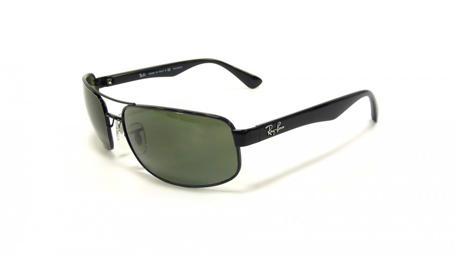 Ban 61 Ray Black Rb3445 00258 17 Polarized Large IbED9WH2eY