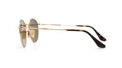 Ray-Ban Round Metal Flat Lenses Or RB3447N 001/90 47-21