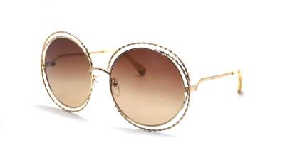 Chloé Carlina Twist Gold CE114ST 743 58-18 Gradient 318,00 €