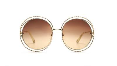 Chloé Carlina Twist Gold CE114ST 743 58-18 Gradient