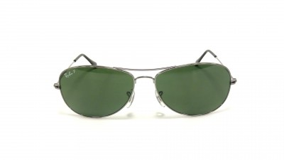 Ray-Ban Cockpit Silver RB3362 004/58 59-14 Polarized