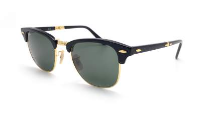 Ray-Ban Clubmaster pliables RB2176 901 51-21 Noir Pliantes 159,90 €