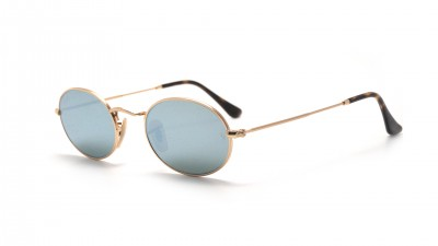 Ray-Ban Oval flat lenses Gold RB3547N 001/30 51-21 104,03 €