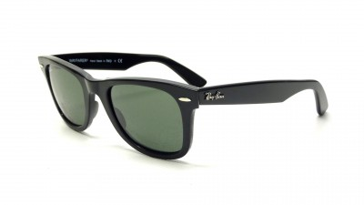 Ray-Ban Original Wayfarer Black G15 RB2140 901 50-22 Medium