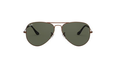 Ray-Ban Aviator Metal Brown RB3025 9189/31 55-14
