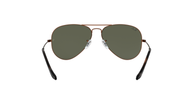 Ray-Ban Aviator Metal Brun RB3025 9189/31 58-14