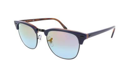 Ray-Ban Clubmaster Gradient Bleu RB3016 1278/T6 51-21