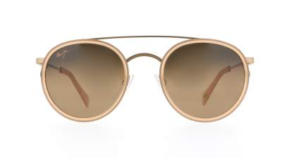 Maui Jim Even Keel Gold Matte HS534-22 51-24 Polarized