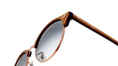 Ray-Ban Clubround RB4246 1306/3F 51-19 Top wrinkled beige on blue