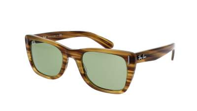 Ray-Ban Caribbean Striped Yellow RB2248 1313/4E 52-22