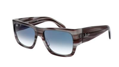 Ray-Ban Nomad Striped Grey RB2187 1314/3F 54-17 111,90 €