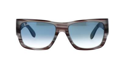 Ray-Ban Nomad Striped Grey RB2187 1314/3F 54-17