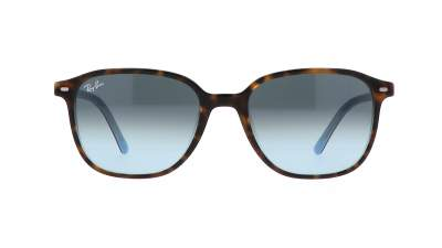 Ray-Ban Leonard RB2193 1316/3M 53-18 Top Havana on Light Blue