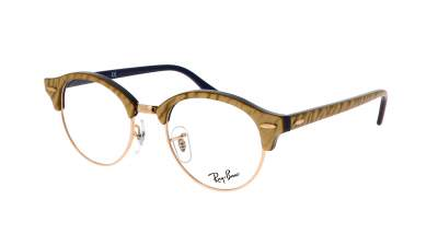 Ray-Ban Clubround Wrinkled Optics RX4246 RB4246V 8051 49-19 90,77 €