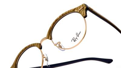 Ray-Ban Clubround Wrinkled Optics RX4246 RB4246V 8051 49-19