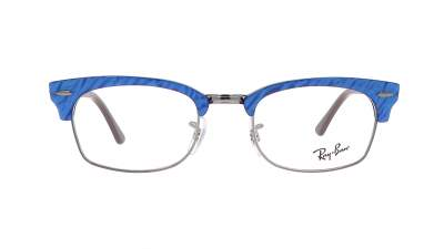 Ray-Ban Clubmaster Square Wrinkled blue RX3916 RB3916V 8052 52-21