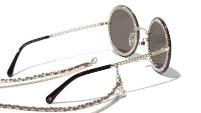 Chanel Chaîne Double Or CH4245 C463/3 58-18