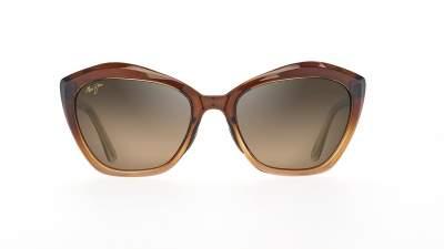 Maui Jim Lotus Braun HS827-01 56-20 Polarisierte Gläser